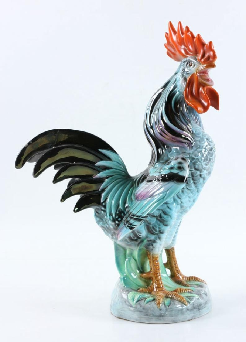 Italian Porcelain Rooster - 3