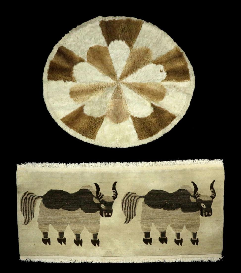 Two Alpaca Carpets