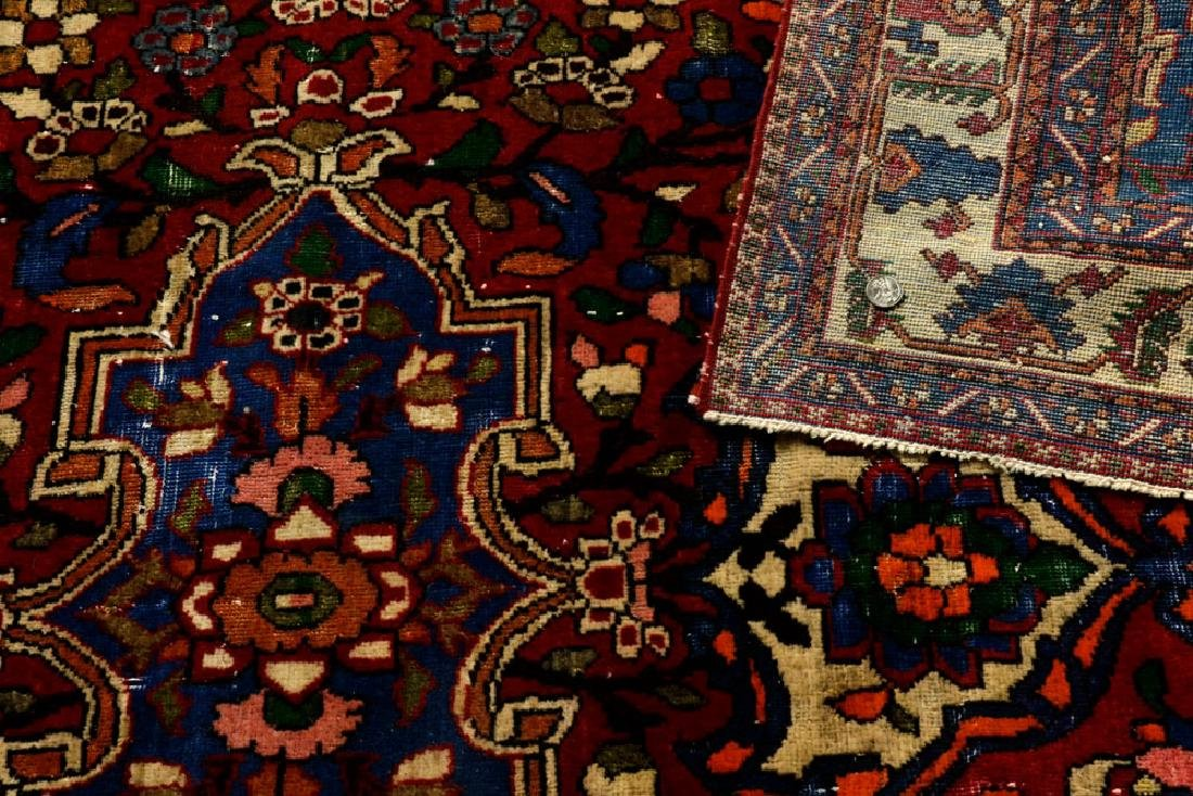Semi-Antique Bibikabad Carpet - 4