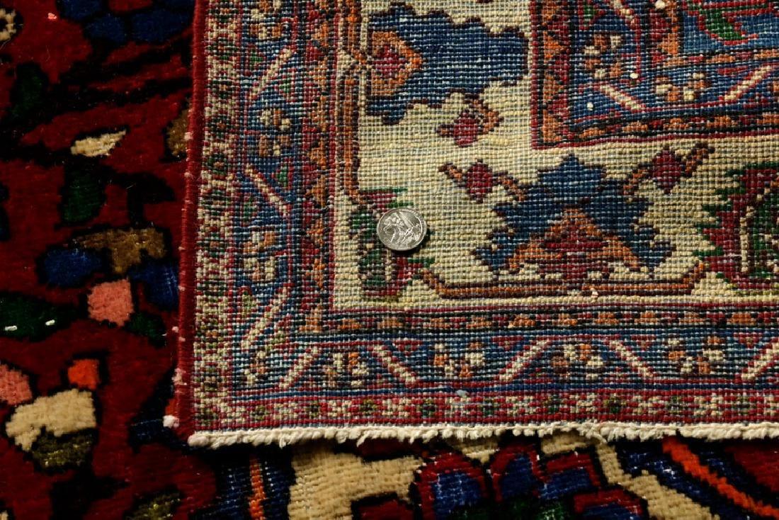 Semi-Antique Bibikabad Carpet - 5