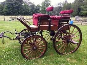 """Horse Drawn """"5th Wheel"""" Wagon"""
