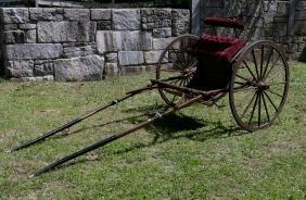 Horse Drawn Two Wheel Cart