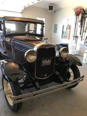 1930 Ford Model A Four Door Sedan