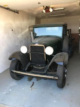 1931 Ford Model AA Hydraulic Dump Truck