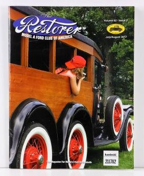 Lot Of Model A Club Of America Magazines