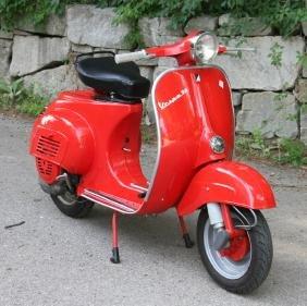 1960s Vespa Piaggio 90cc Motor Scooter