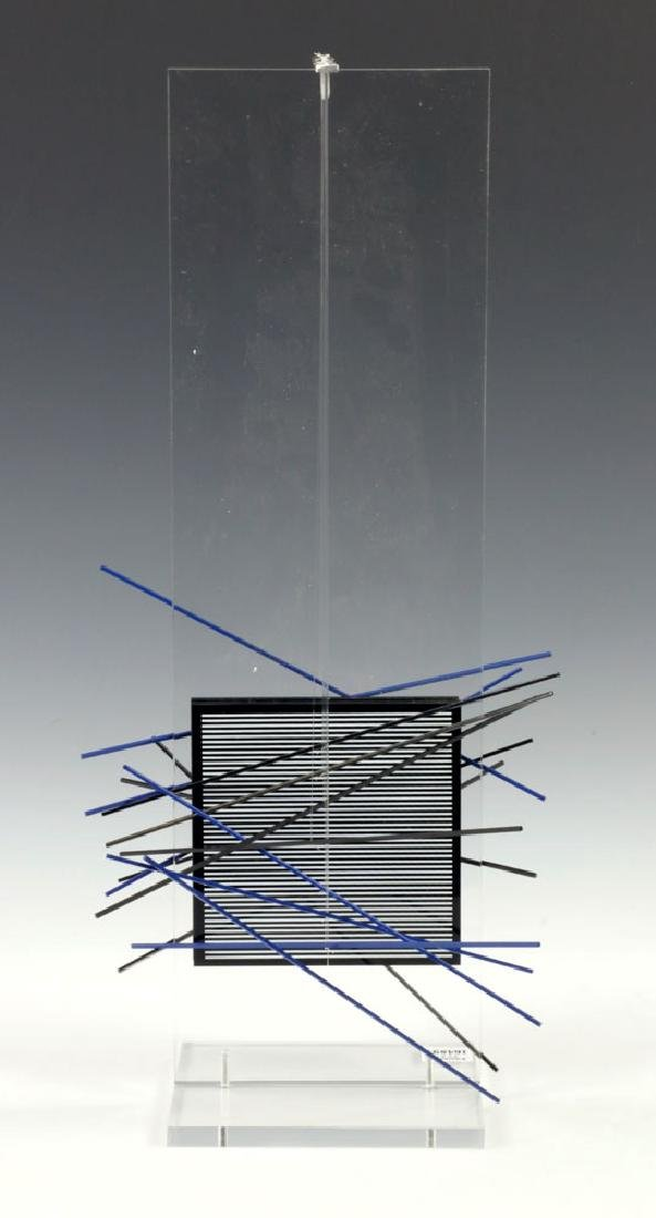 Jesus Rafael Soto Kinetic Sculpture Multiple III