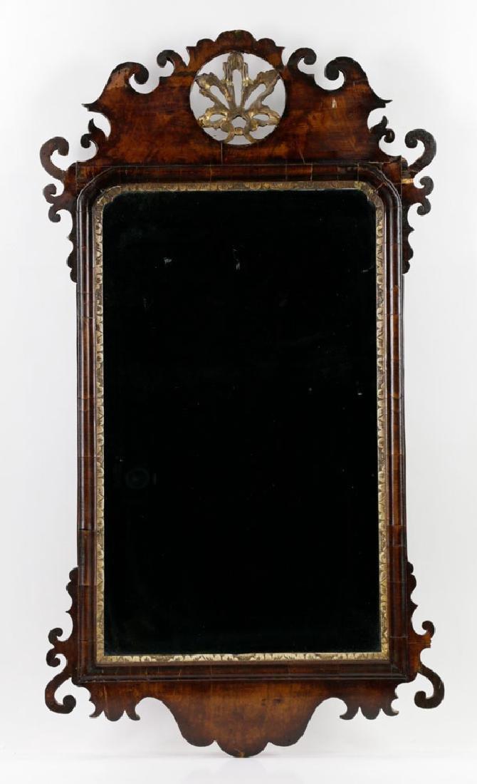 Late 18th/Early 19th C. Mahogany Mirror