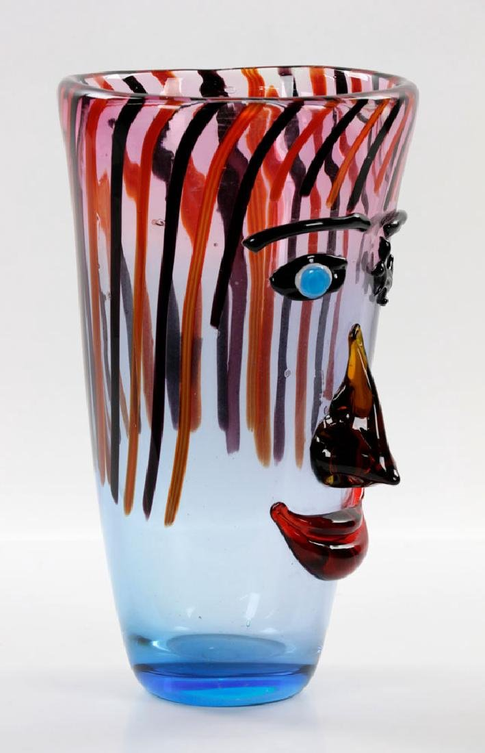 Italian Murano Art Glass Vase - 2
