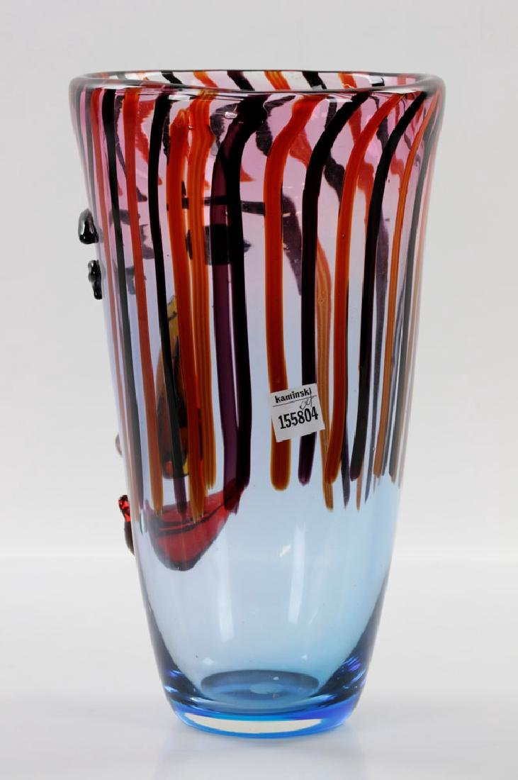 Italian Murano Art Glass Vase - 4