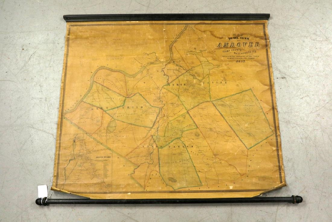 Lot of 19th C. Andover, Massachusetts Maps - 10