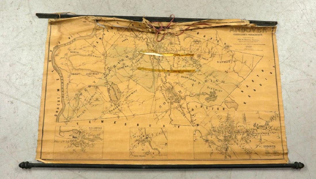 Lot of 19th C. Andover, Massachusetts Maps - 8