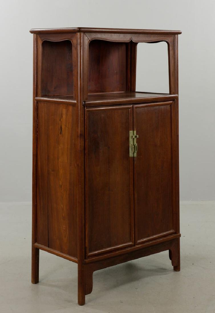19th C. Chinese Ming Dynasty Style Cabinet - 5