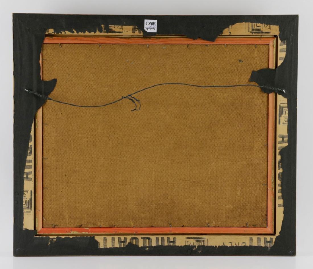 "Jonas Lie, ""Under Full Sail"", Oil on Board - 7"