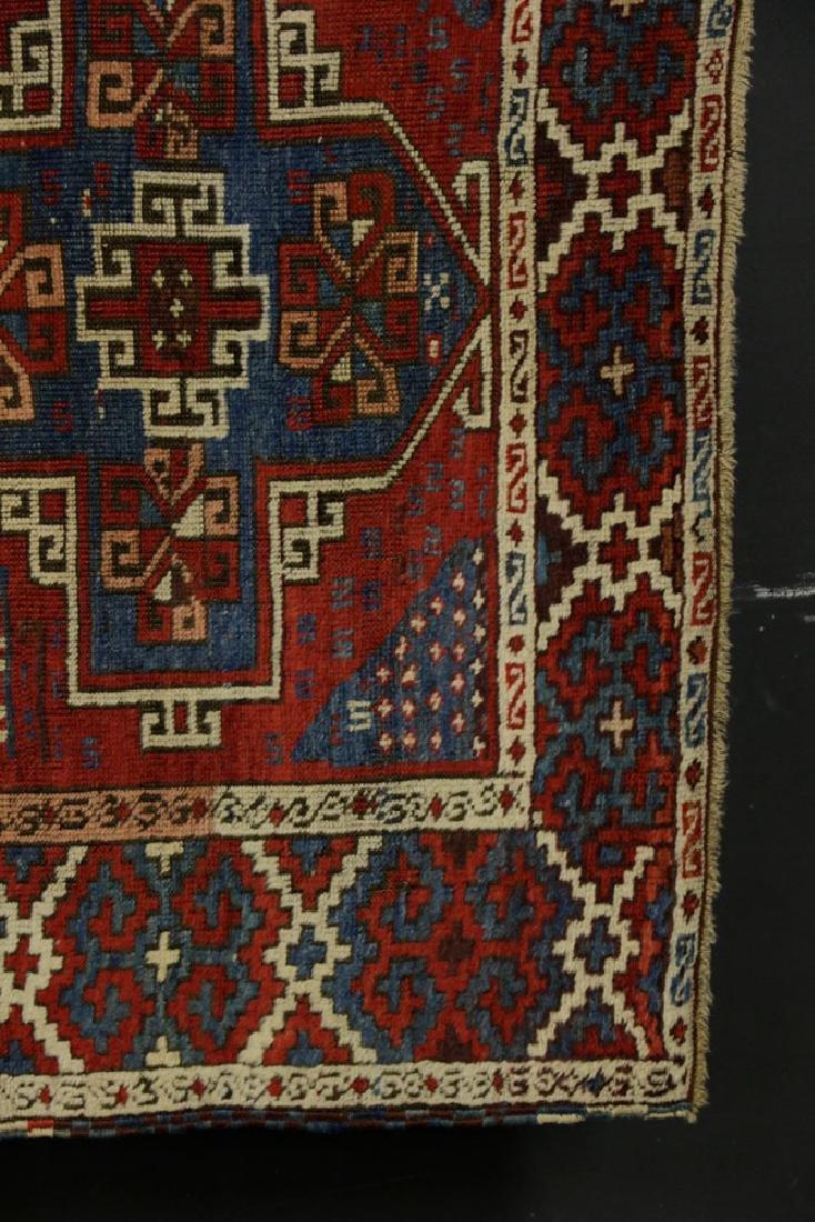 Antique Kazak Rug - 3