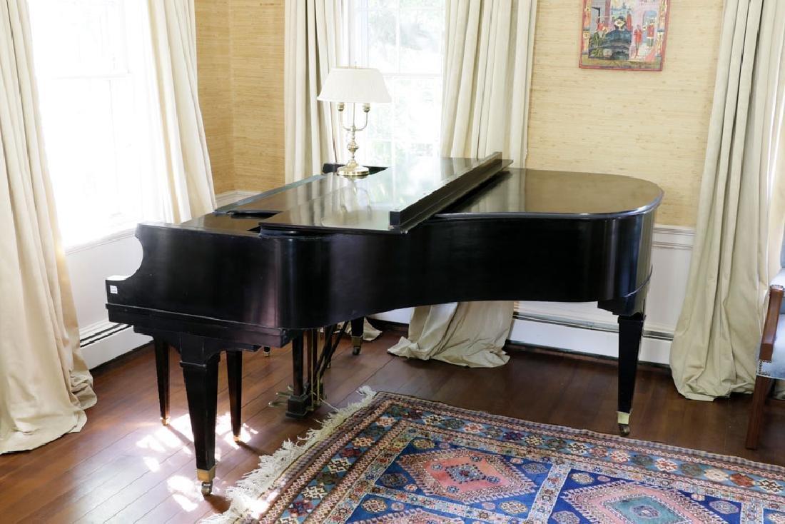 Chickering Baby Grand Piano.
