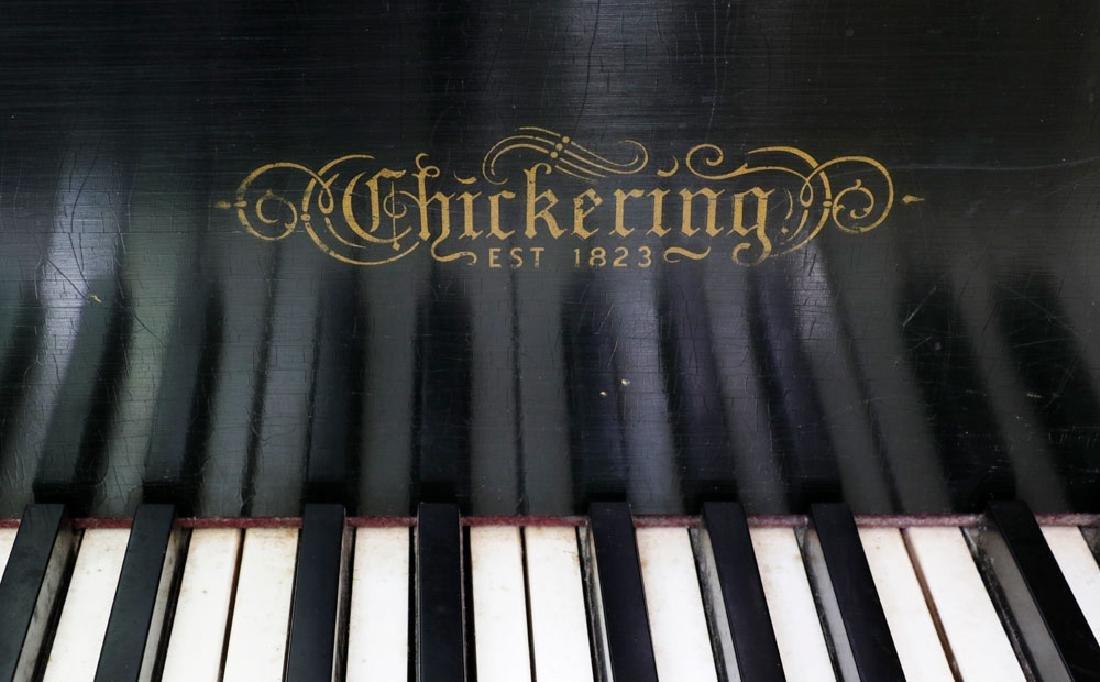 Chickering Baby Grand Piano. - 6