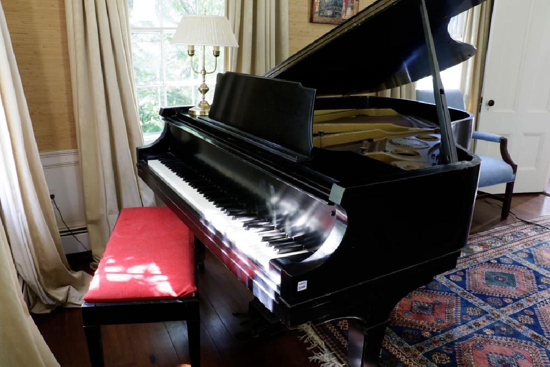 Chickering Baby Grand Piano. - 7