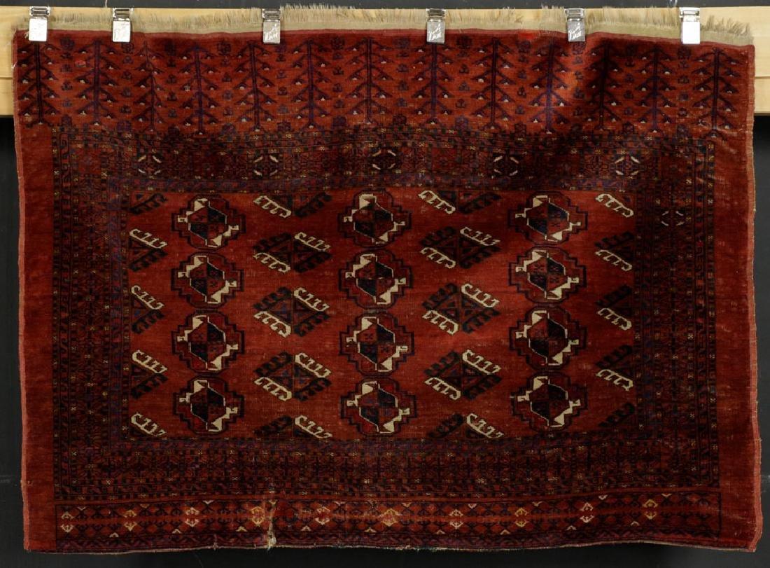19th C. Turkoman Rug