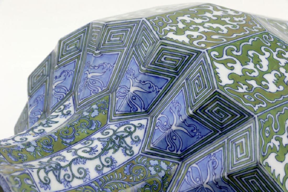 Japanese Meiji Period Unusual Porcelain Urn - 9