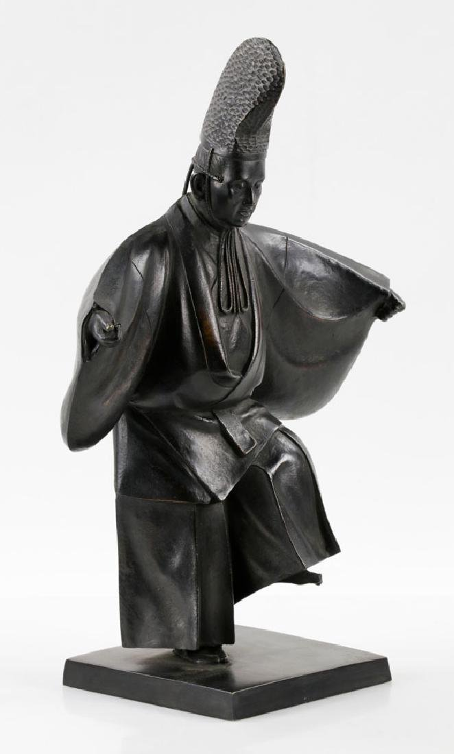 Mid-Century Japanese Bronze Sculpture - 2