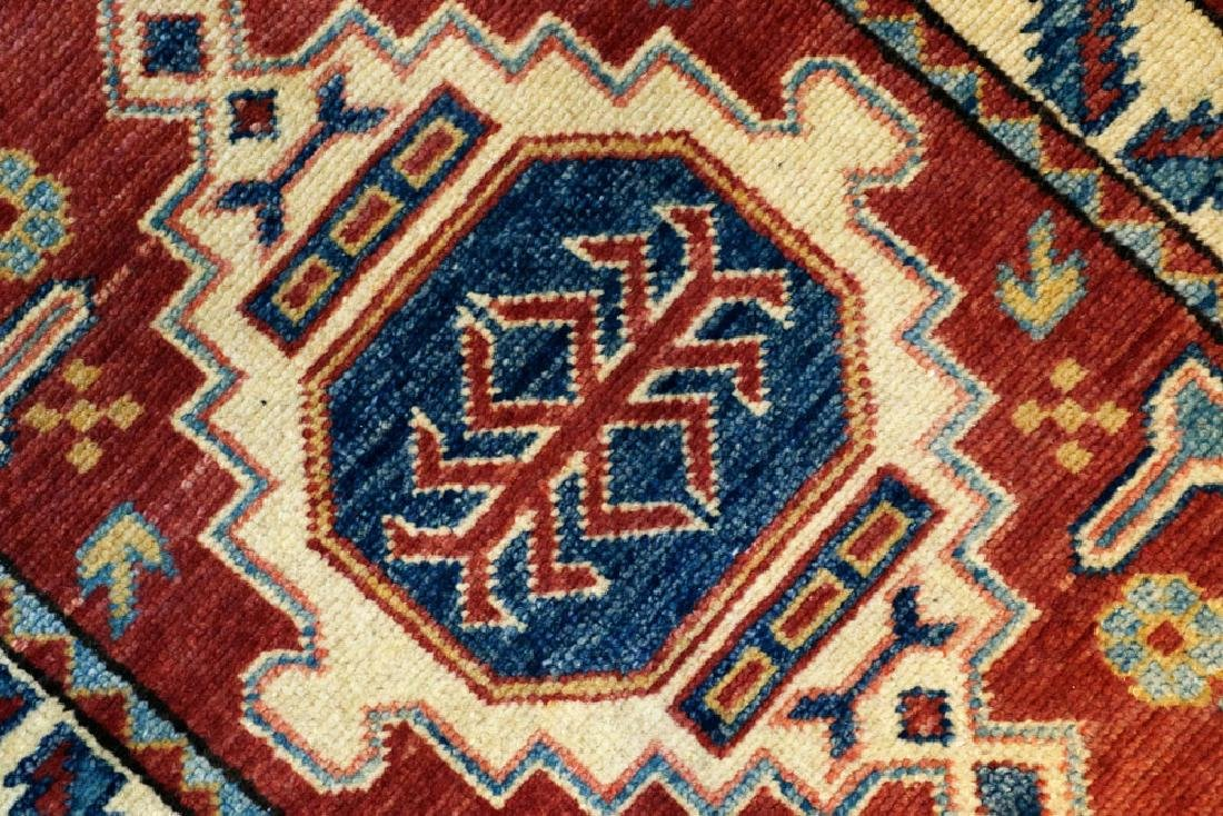 Semi-antique Small Kazak Rug - 3