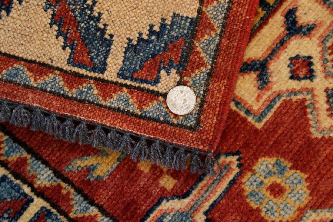 Semi-antique Small Kazak Rug - 4