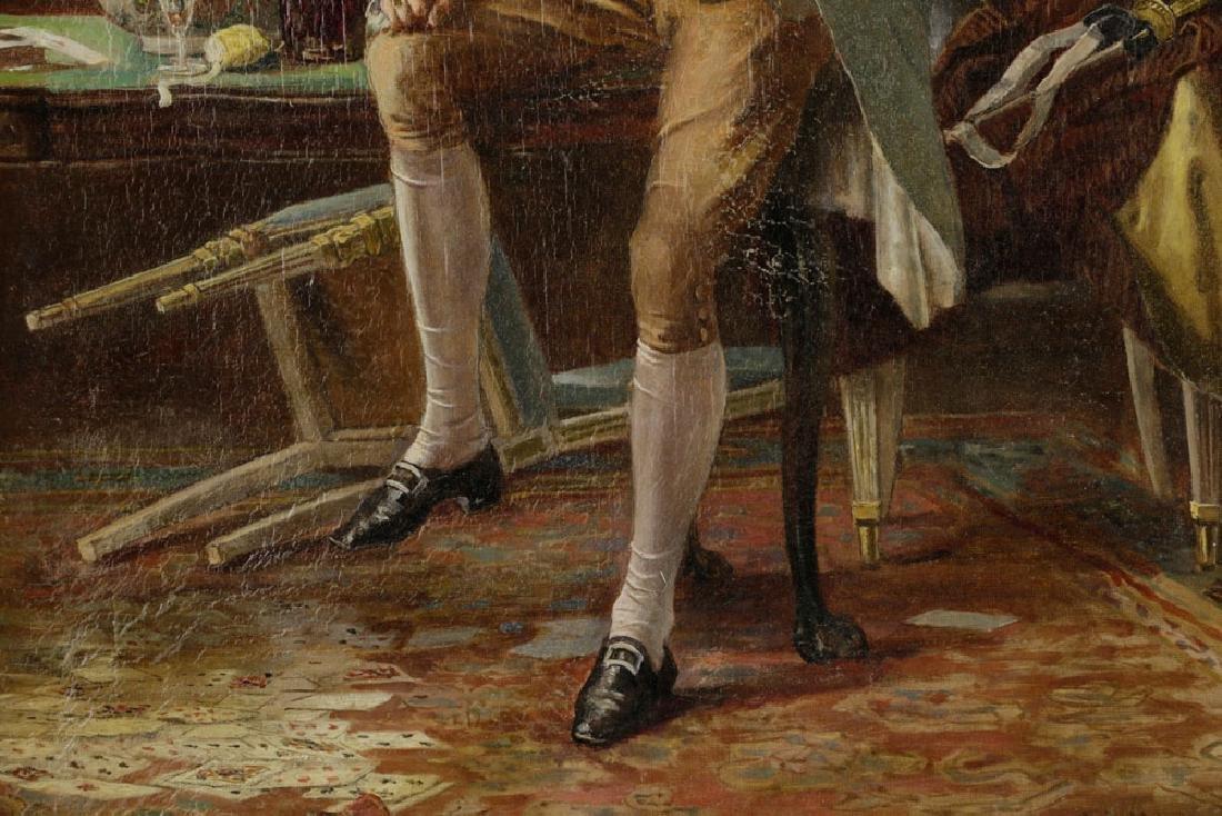 Laslett John Pott, Gentleman w/ Letter, Oil on Canvas - 6