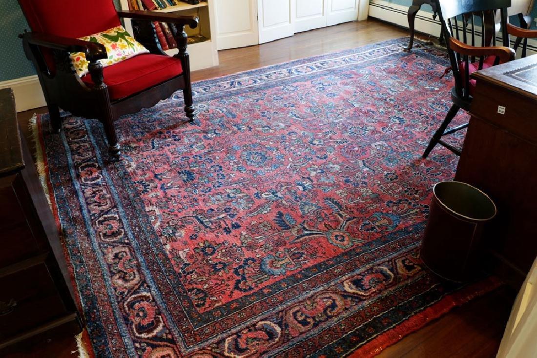 Persian Hamadan rug.