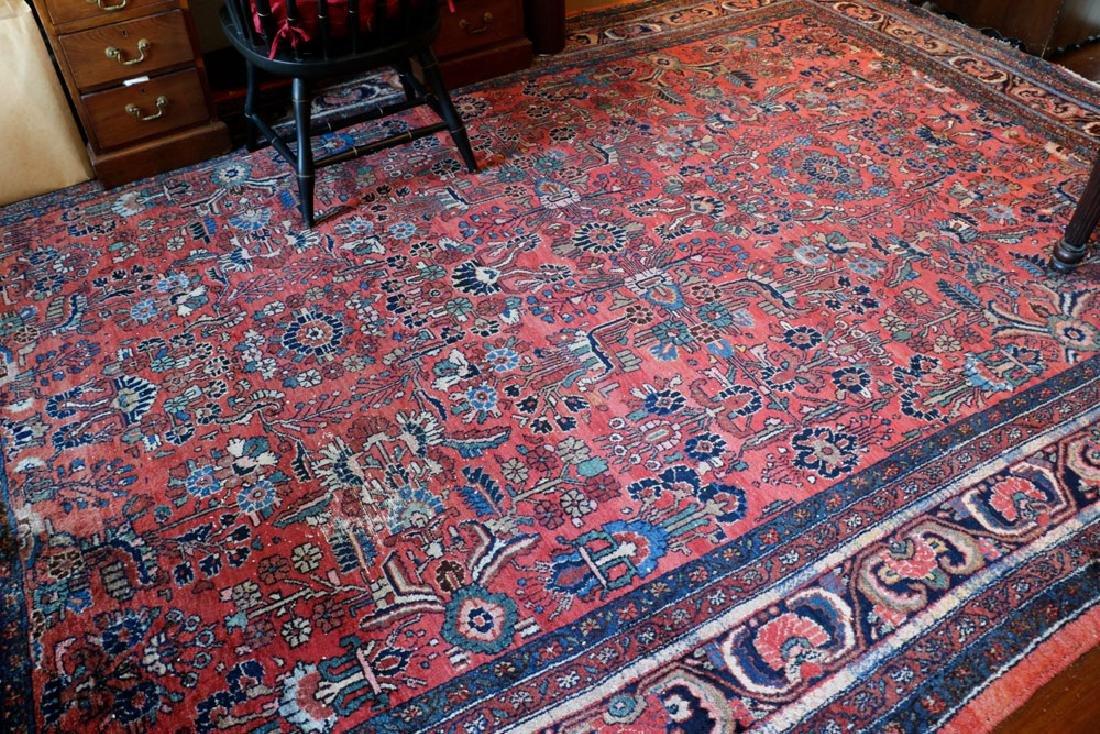 Persian Hamadan rug. - 2