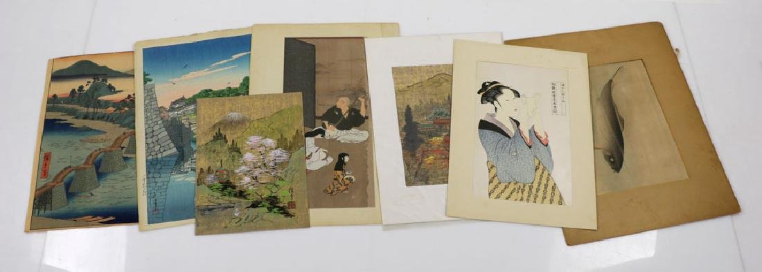 Group of Japanese Prints