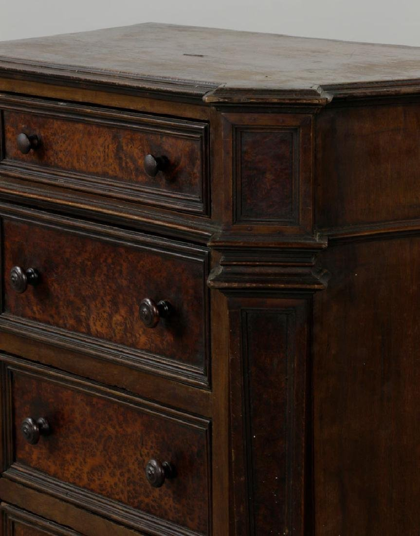 18th C. Italian 4-Drawer Commode - 8