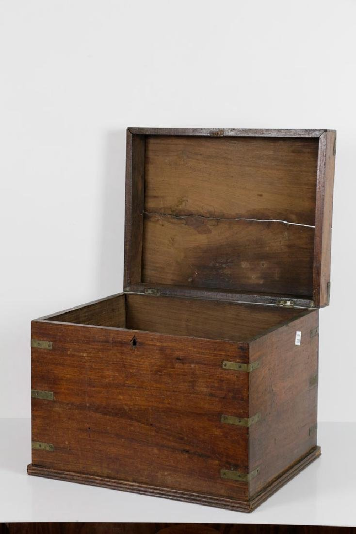 Early 19th C. English Hardwood Liquor Chest - 3