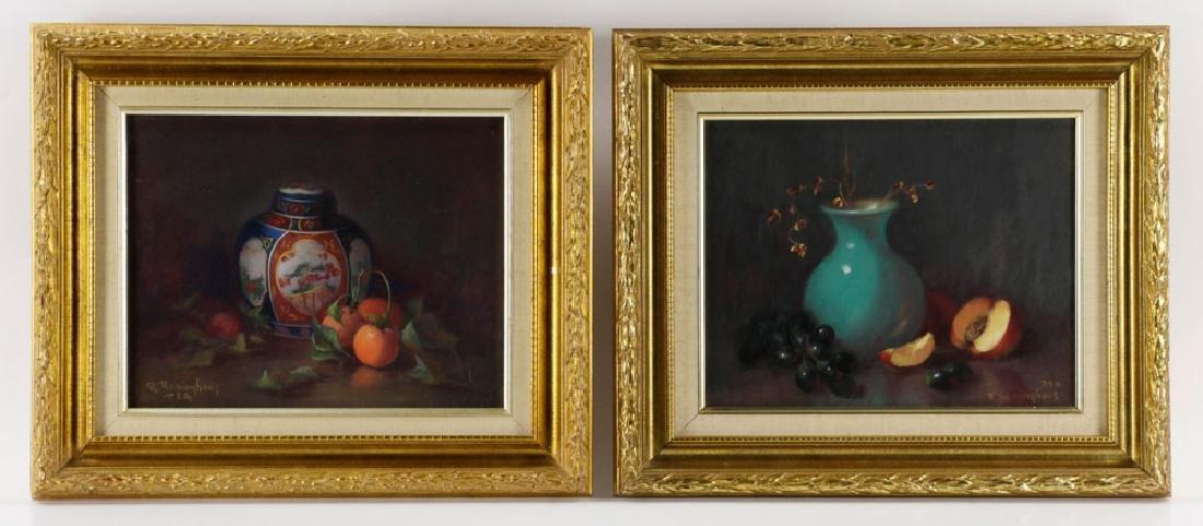 Ruth Reininghaus, (2) Still Life Pastels