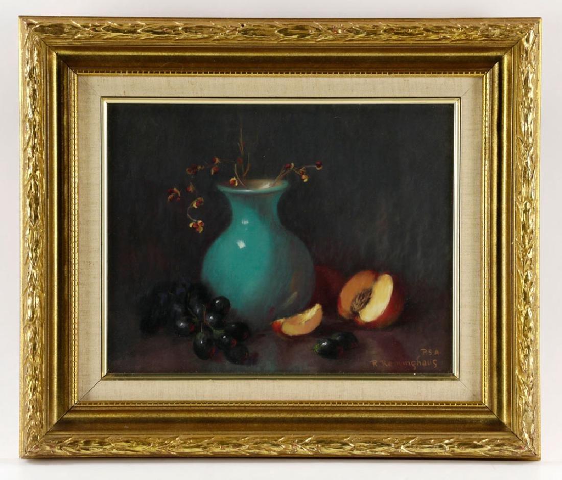 Ruth Reininghaus, (2) Still Life Pastels - 2