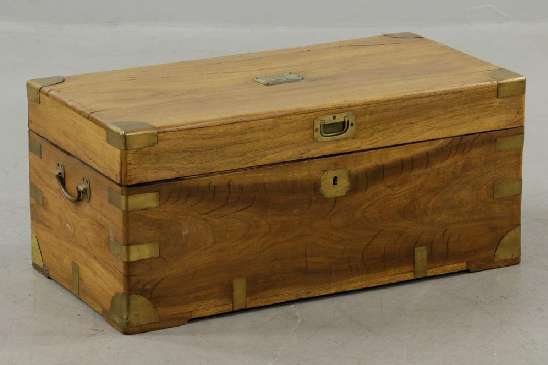 Early 19th C. Chinese Camphor Wood Chest