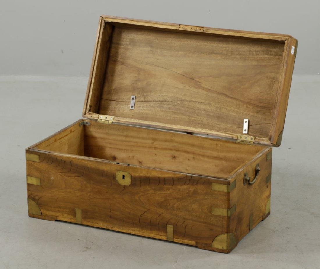 Early 19th C. Chinese Camphor Wood Chest - 2