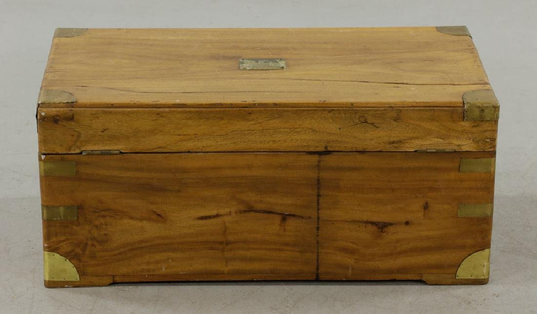 Early 19th C. Chinese Camphor Wood Chest - 6