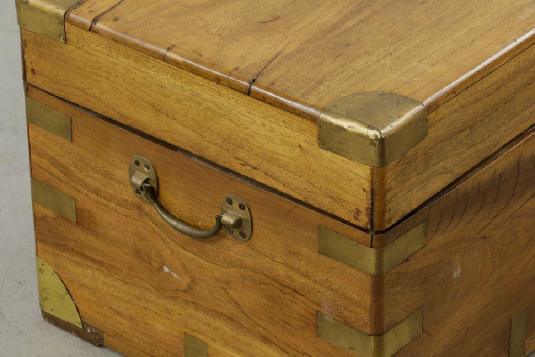 Early 19th C. Chinese Camphor Wood Chest - 7