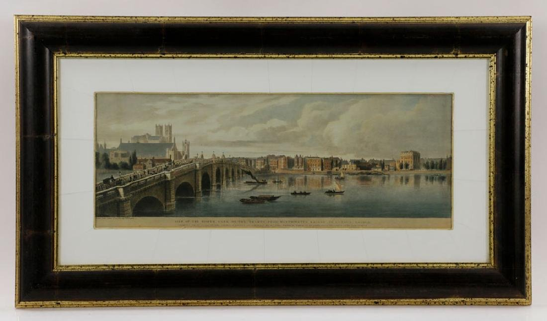 Lot of (3) Views of London, Framed - 2