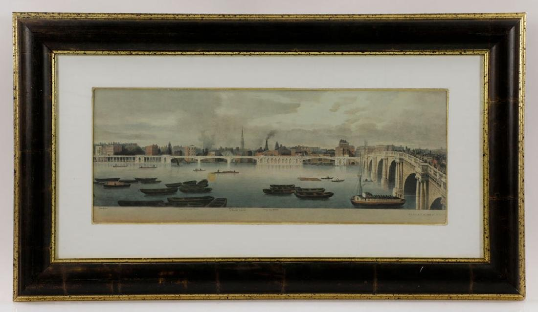 Lot of (3) Views of London, Framed - 3