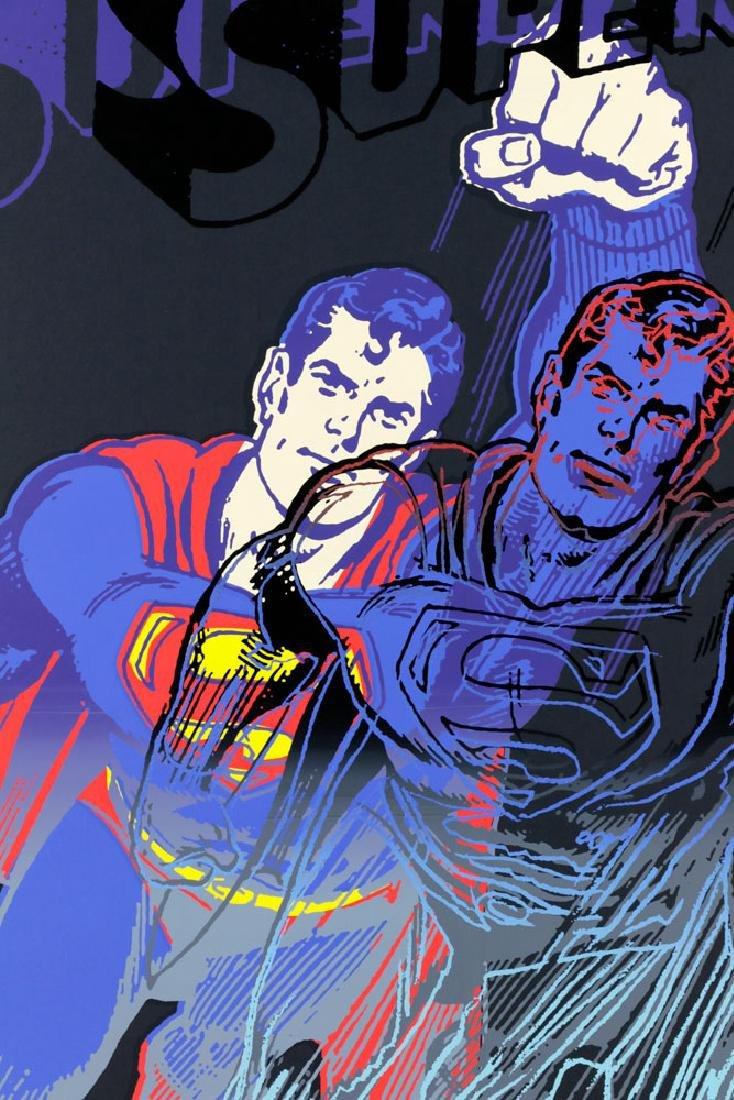 "Andy Warhol ""Superman"" Silkscreen - 2"