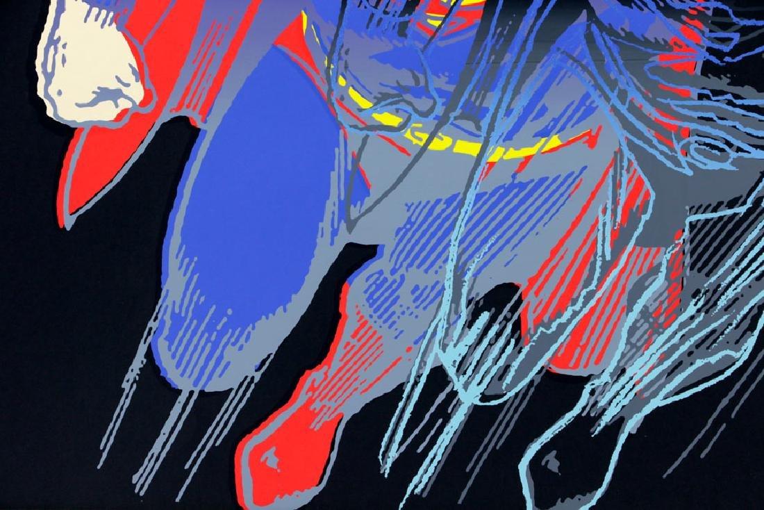 "Andy Warhol ""Superman"" Silkscreen - 4"