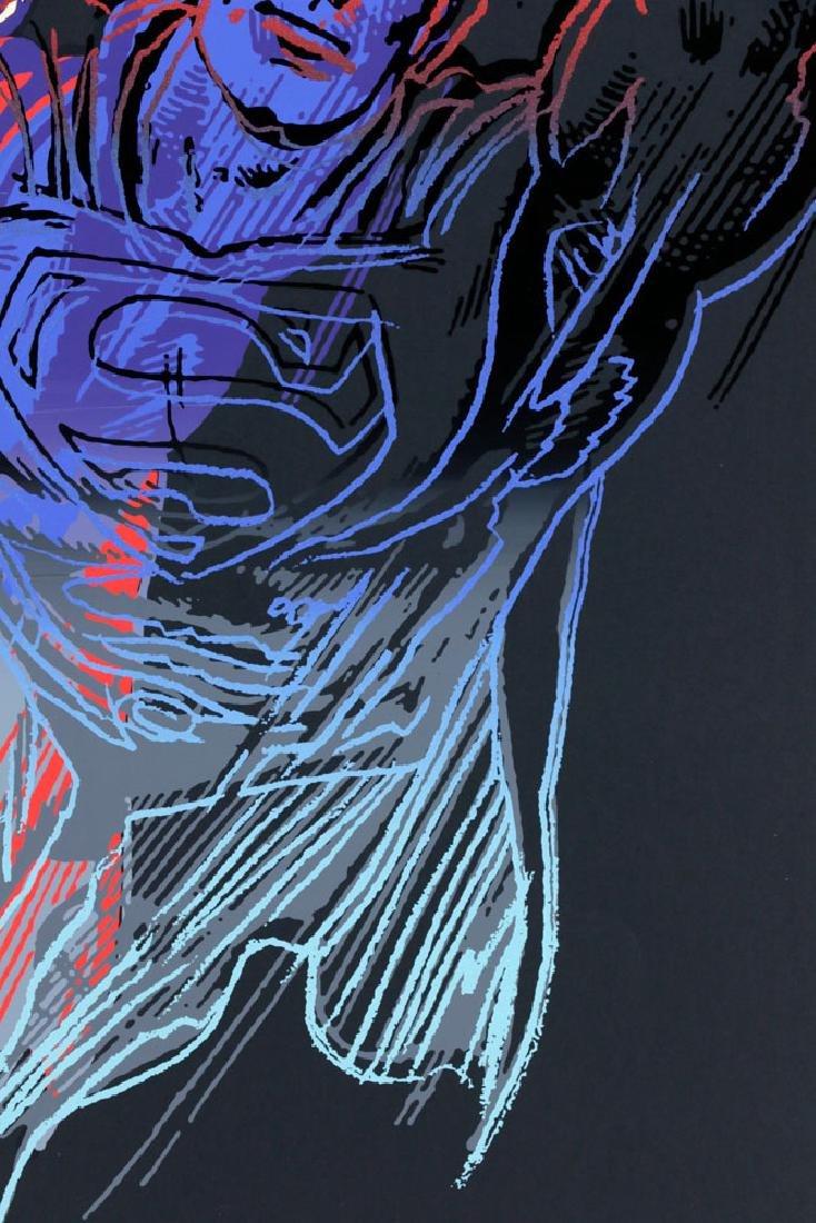 "Andy Warhol ""Superman"" Silkscreen - 5"