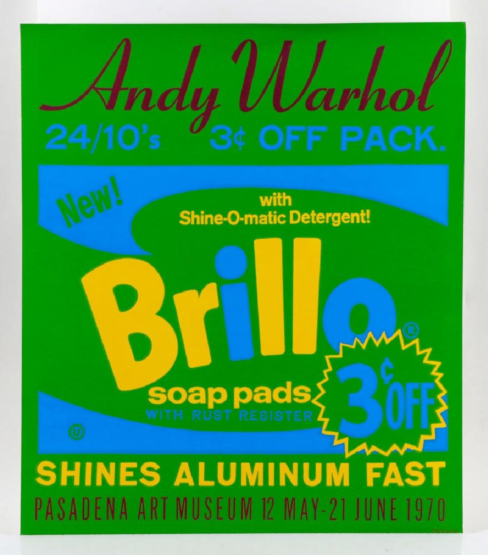 "Andy Warhol ""Brillo"" Silkscreen"