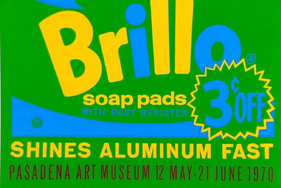 "Andy Warhol ""Brillo"" Silkscreen - 2"