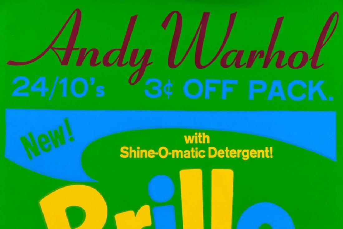 "Andy Warhol ""Brillo"" Silkscreen - 3"