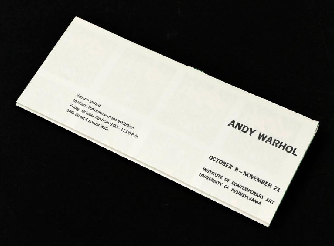 """Andy Warhol """"S&H Green Stamps"""" Litho Mailer - 2"""