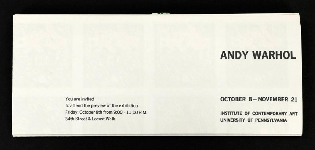 "Andy Warhol ""S&H Green Stamps"" Litho Mailer - 3"