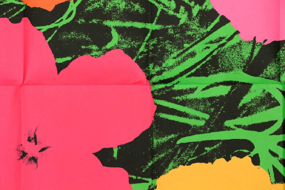 """Andy Warhol """"Flowers"""" Litho Mailer - 3"""